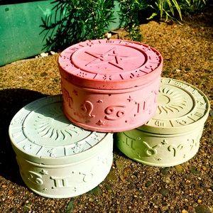 Astrology witchy trinket box / jewellery organiser